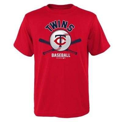 MLB Minnesota Twins Boys' Core T-Shirt - L