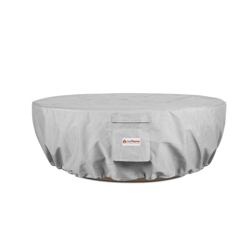 Riverside Fire Pit Cover Gray - Real Flame - image 1 of 4