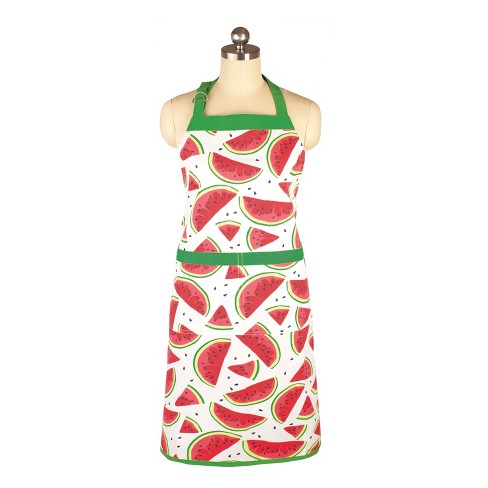 Cooking Apron Watermelon Green/Red - Mu Kitchen - image 1 of 1