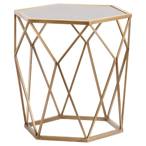 Accent Table - Soft Gold - Aiden Lane - image 1 of 3
