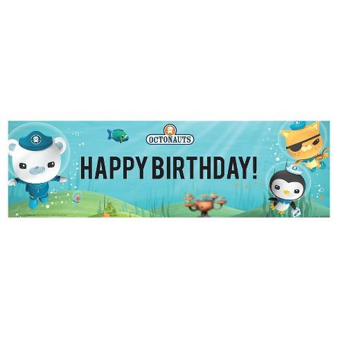octonauts birthday banner target
