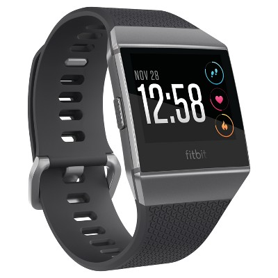Fitbit® Ionic Smartwatch Small/Large - Charcoal/Smoke Gray