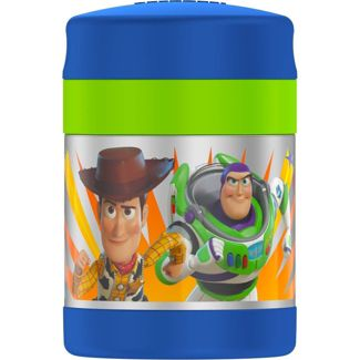 Thermos 10oz Toy Story FUNtainer Food Jar - Blue/Sliver