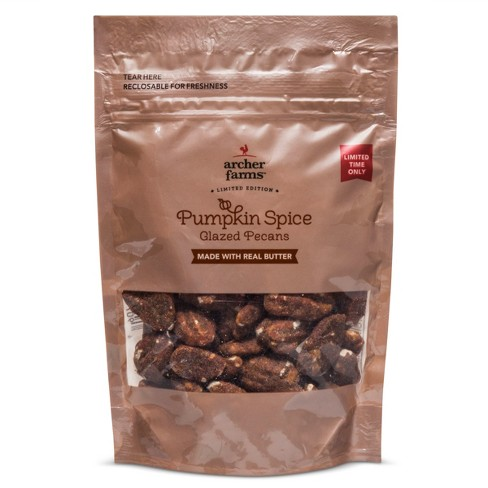 Pumpkin Spiced Glazed Pecans - 3.5oz - Archer Farms™ - image 1 of 1
