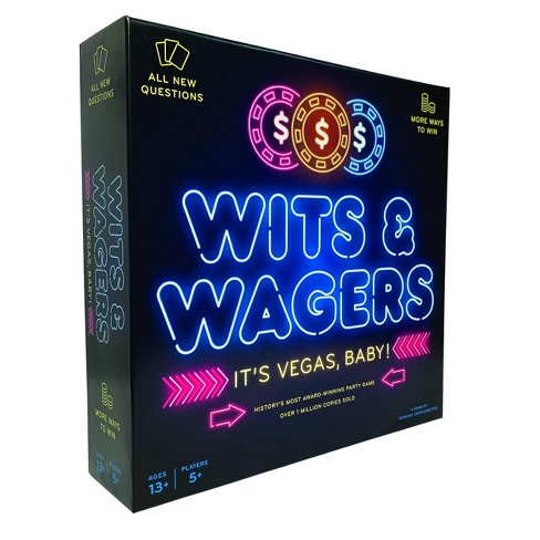 Wits & Wagers Vegas Board Game - image 1 of 4