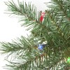 5ft Sterling Tree Company Pre-Lit Colorado Spruce with 200 Multicolored Lights Artificial Christmas Tree - image 2 of 2