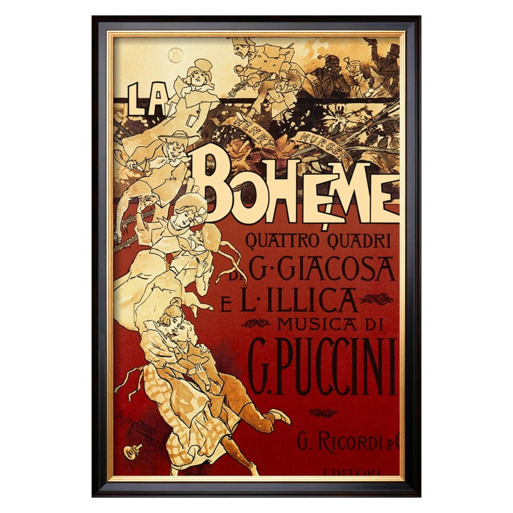 Art.com - La Boheme Framed Print