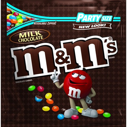 M&M's Party Size Milk Chocolate Candies - 42oz - image 1 of 5