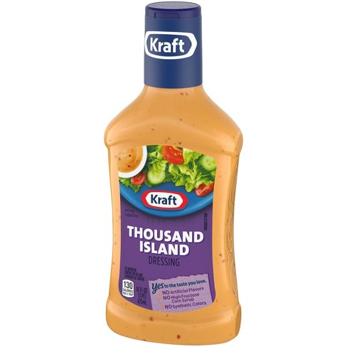 Kraft Thousand Island Salad Dressing 16 Fl Oz Target