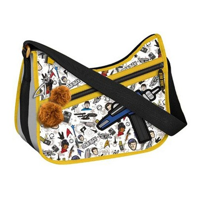 Crowded Coop, LLC Star Trek Original Series Pattern Purse