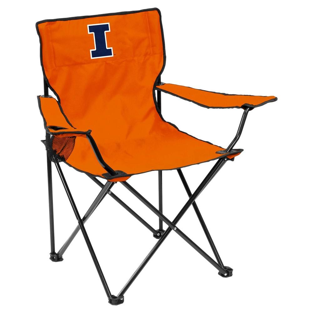 Illinois Fighting Illini Quad Folding Camp Chair