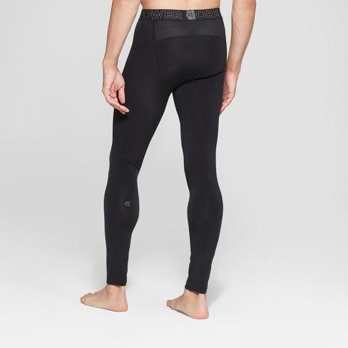 731917227c Men's Cold Weather Brushed Tight Leggings - C9 Champion® Black : Target