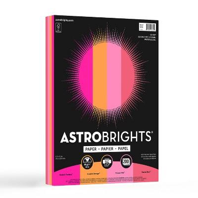 Astrobrights Color Paper 8.5 x 11 24 lb/89 91645