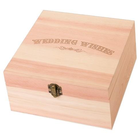 Wedding Wishes Card Box - image 1 of 1