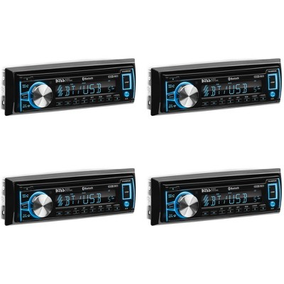 BOSS Audio Systems 750BRGB Single DIN Bluetooth CD Player & Radio Receiver Car Stereo with Anti Theft Detachable Panel and Multi Color Display