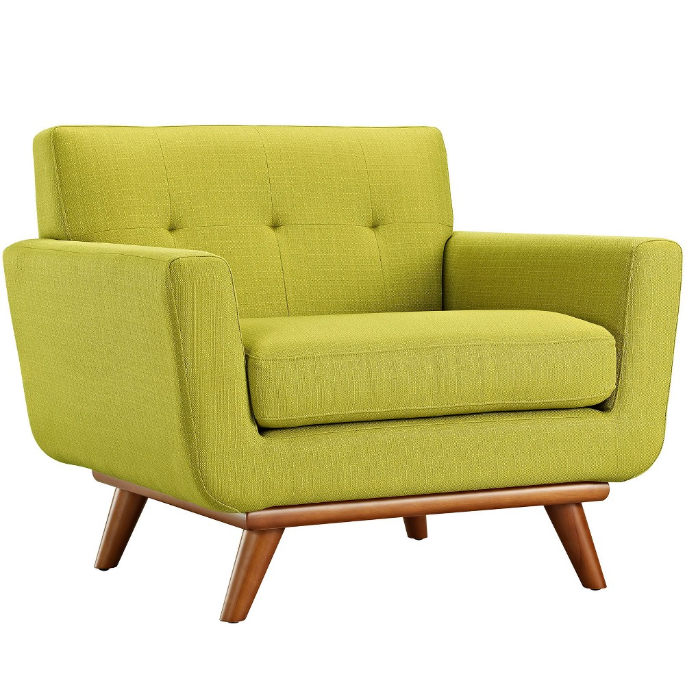 Engage Upholstered Armchair Wheatgrass (Green) - Modway