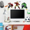 32 MARVEL CLASSICS Peel and Stick Wall Decal - ROOMMATES - image 2 of 4