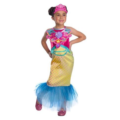 f49599a8f07 Girls  Barbie Mermaid Halloween Costume   Target