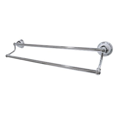 "24"" Dual Towel Bar Chrome - Kingston Brass"