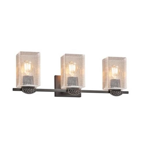 "Justice Design Group FSN-8493-15-SEED Malleo 3 Light 24"" Wide Bathroom Vanity Light - - image 1 of 1"