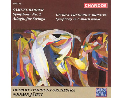 Detroit symphony orc - Barber:Symphony 2/Adagio for strings (CD) - image 1 of 1