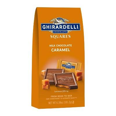 Ghirardelli Milk Chocolate Caramel Squares - 6.38oz