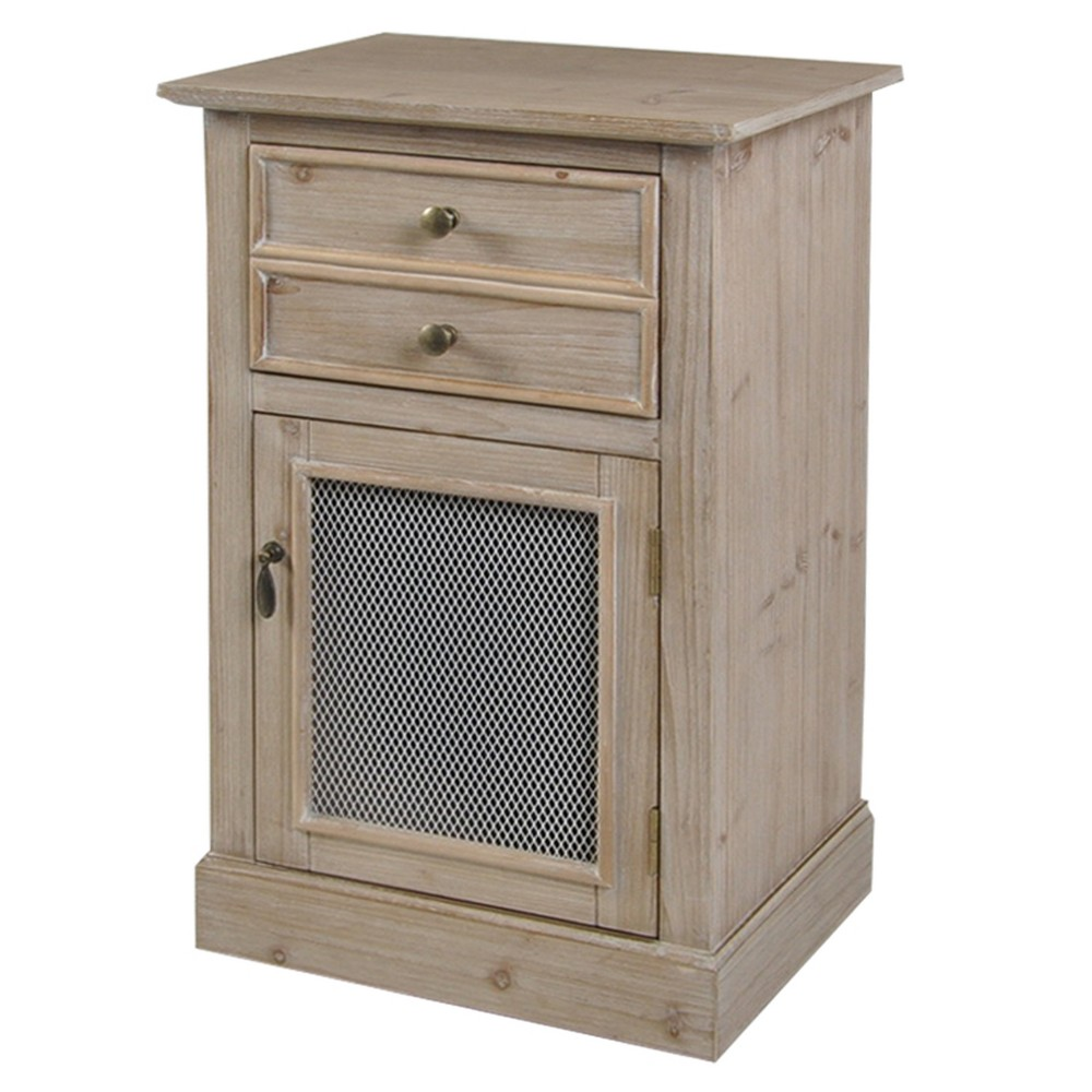 Mixed Material Cabinet Stylecraft