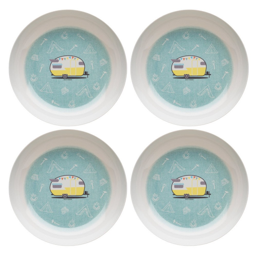 Image of 31oz 4pk Adventurer Dining Collection Melamine Pasta Bowls - Zak Designs