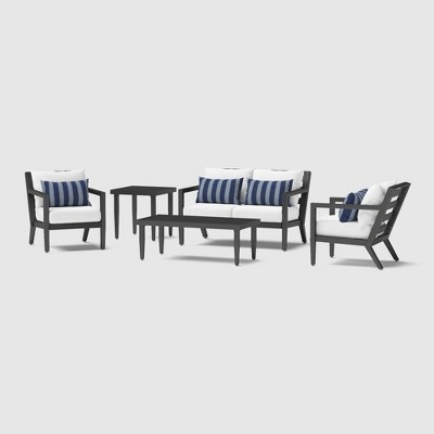 Thelix 5pc Seating Set - Centered Ink - RST Brands