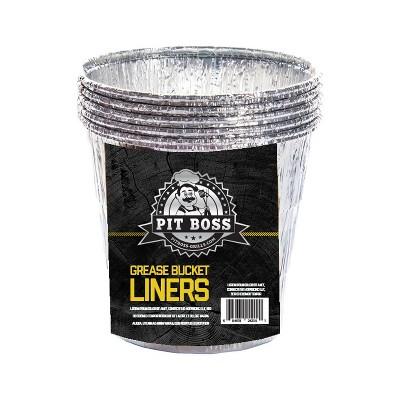 6pk Foil Liners - Pit Boss