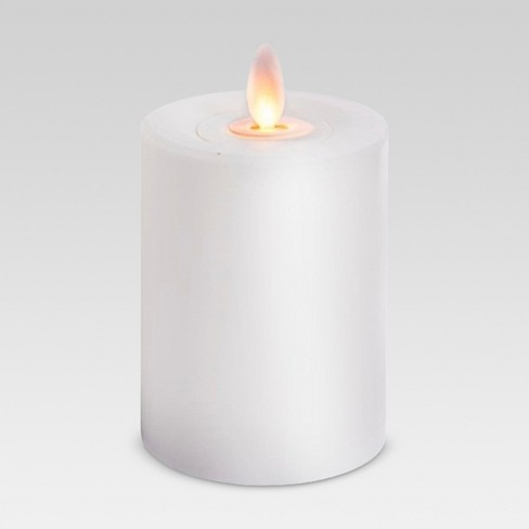 Outdoor LED Motion Flame Resin Candle - Threshold™ - image 1 of 1