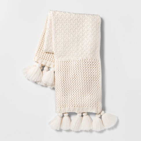 Chunky Knit Throw Blanket - Opalhouse™ - image 1 of 2