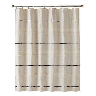 Frayser Shower Curtain Linen - Saturday Knight Ltd.