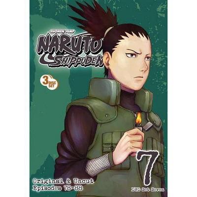 Naruto Shippuden: Box Set 7 (DVD)(2011)