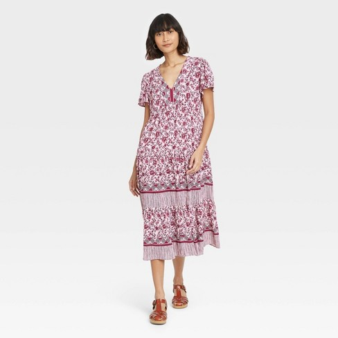 Women's Short Sleeve Dress - Knox Rose™ - image 1 of 3