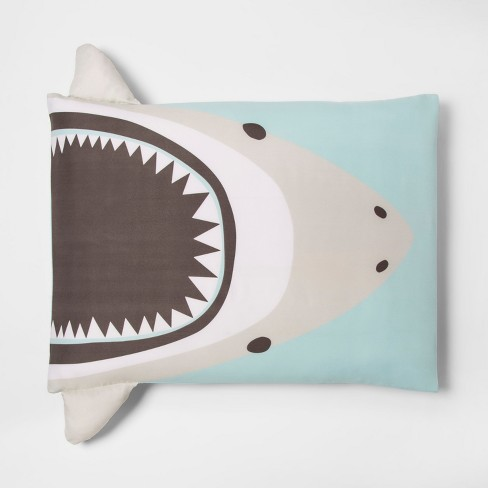 Shark Pillow Case - Pillowfort™ - image 1 of 1