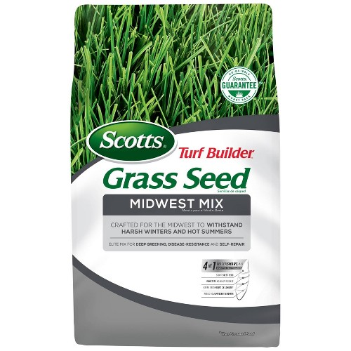Scotts Turf Builder Midwest Mix Grass Seeds - 20lb