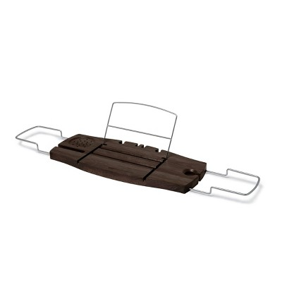 Aquala Bath Tub Caddy Brown - Umbra