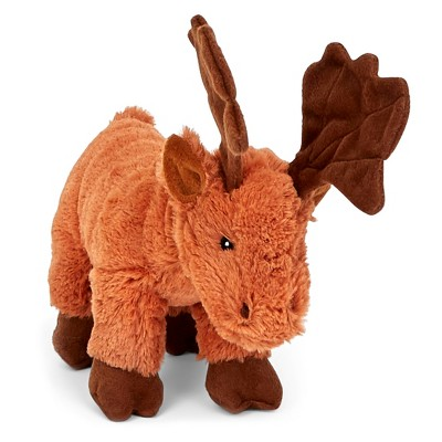 BARK Stuffed Moose Dog Toy - Monty the Moose