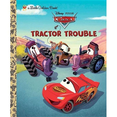 Tractor Trouble - (Little Golden Books (Random House)) by  Frank Berrios (Hardcover)