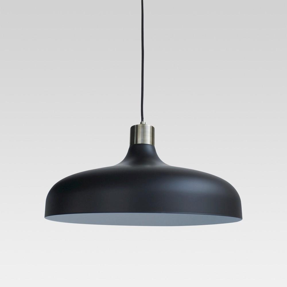 Image of Crosby Large Pendant Ceiling Light Black Includes Energy Efficient Light Bulb - Threshold