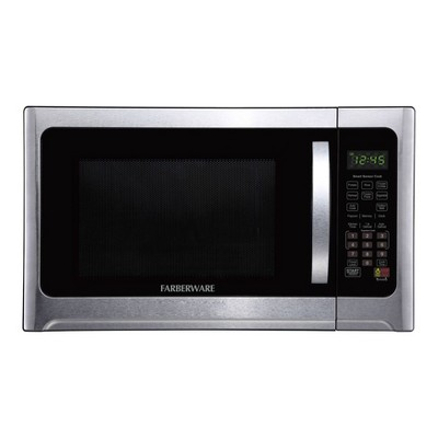 Faberware Professional 1.2 cu ft Microwave Oven with Sensor - Silver