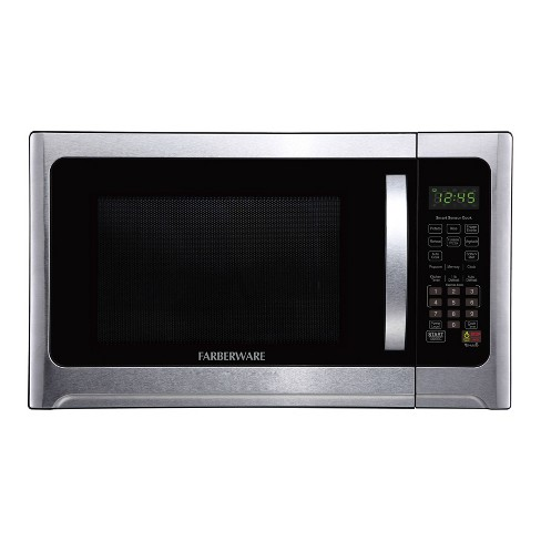 Faberware Professional 1.2 cu ft Microwave Oven with Sensor - Silver - image 1 of 4