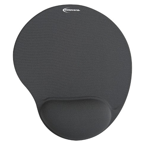 Innovera® Mouse Pad w/Gel Wrist Pad, Nonskid Base, 10-3/8 x 8-7/8, Gray - image 1 of 1