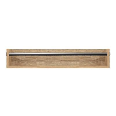 "24"" x 10"" Utility Rack Shelf White Oak - InPlace"