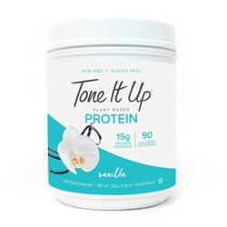 Tone It Up Plant Based Protein Powder - Vanilla - 11.36oz