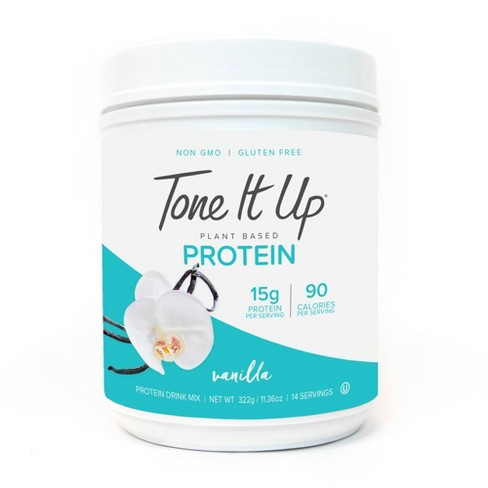 Tone It Up Plant Based Protein Powder - Vanilla - 11.36oz - image 1 of 4