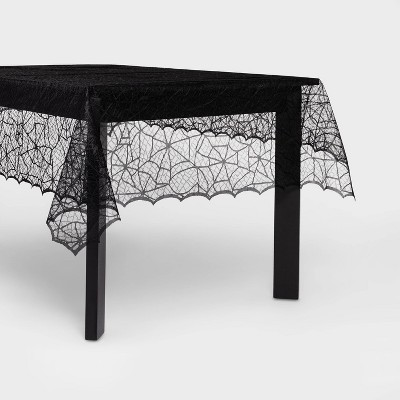 """60""""x84"""" Lace Halloween Tablecloth - Hyde & EEK! Boutique™"""