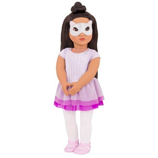 Our Generation Regular Doll with Ballet Outfit - Julieta