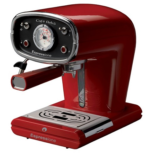 Espressione New Café Esspresso Maker - Red - image 1 of 4